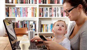 çalışan anneler, çalışan annelerin çocukları, çocuklar ve anneleri