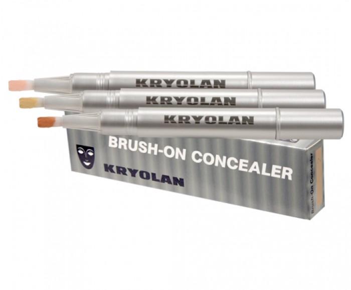 kryolan kapatıcı kullanımı, kryolan kapatıcı nasıl kullanılır, kryolan brush-on kapatıcı kullanımı